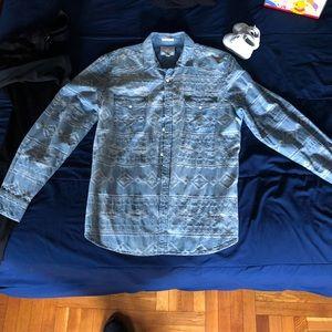 Like new denim shirt lucky brand size large